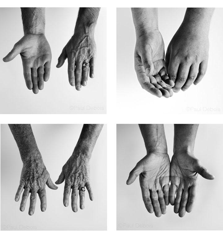 Gardeners' hands, Dan Hinckley, Rosemary Alexander, Tim Richardson, Will Giles