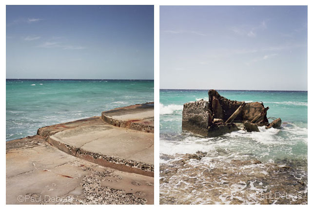 Left: Bay of Pigs. Right: Bay of Pigs