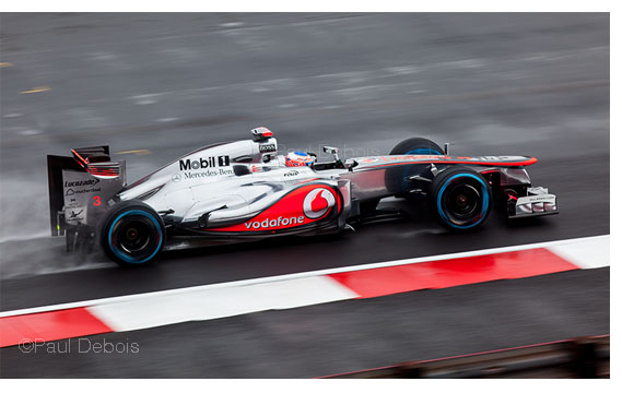 Jenson Button in 2012 Mercedes Mclaren