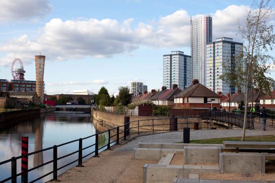 Lea Valley, walk on Open House weekend, Stratford