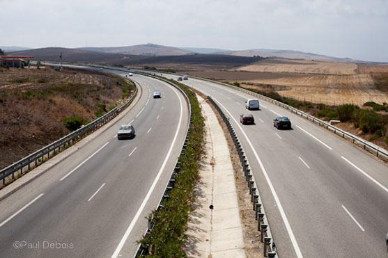 Autovia de la Costa de La Luz, near Vejer de la Frontera