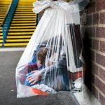 Rubbish bag, Ealing Common Tube