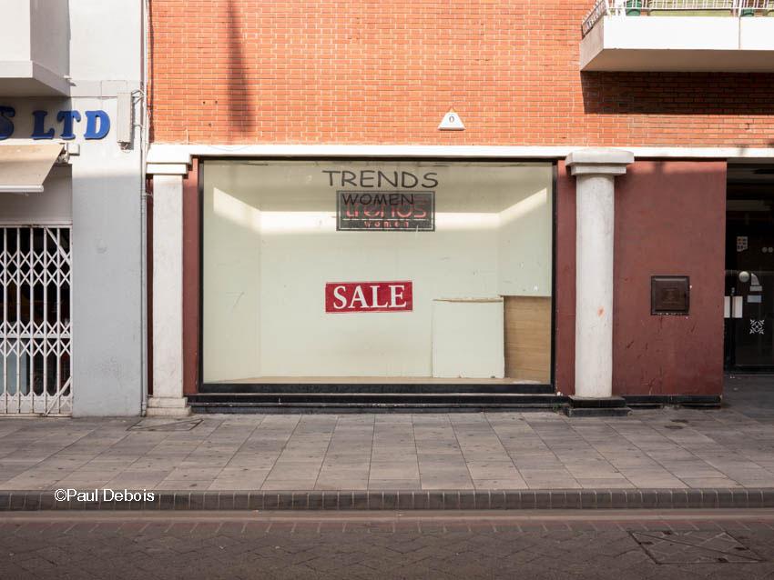 Empty shop, Gibraltar