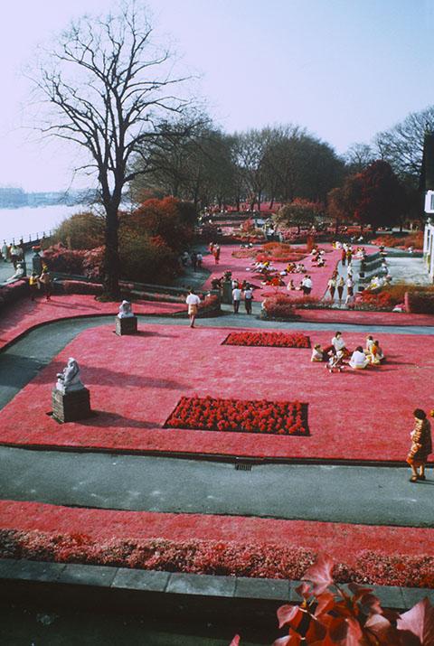 Bishops Park near Putney Bridge, infra red