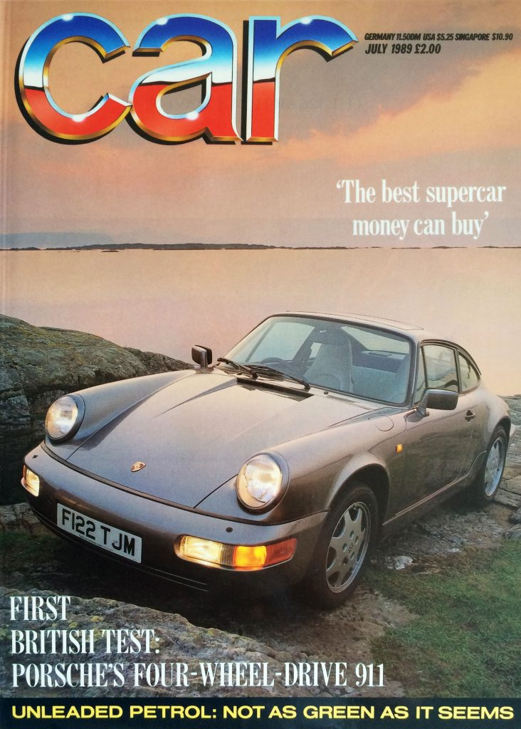 Car Magazine, July 1989. Porsche 911
