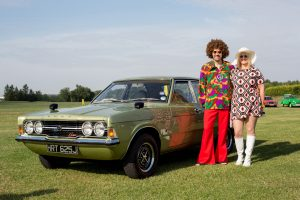 Ford Cortina GT owners at Festival of the Unexceptional Whittlebury Park