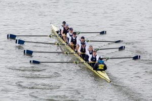Quintin Head Race from Chiswick Bridge, Putney Town Rowing Club