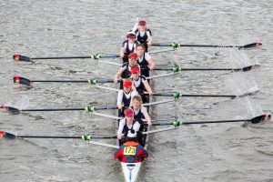 Quintin Head Race from Chiswick Bridge, King's College London