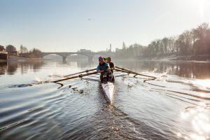 Masters Ladies at Putney Town Rowing Club