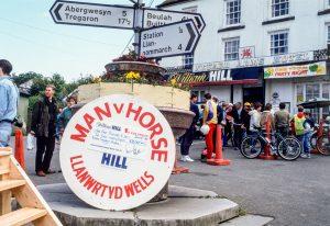 Man v Horse Marathon, Llanwrtyd Wells, 1990