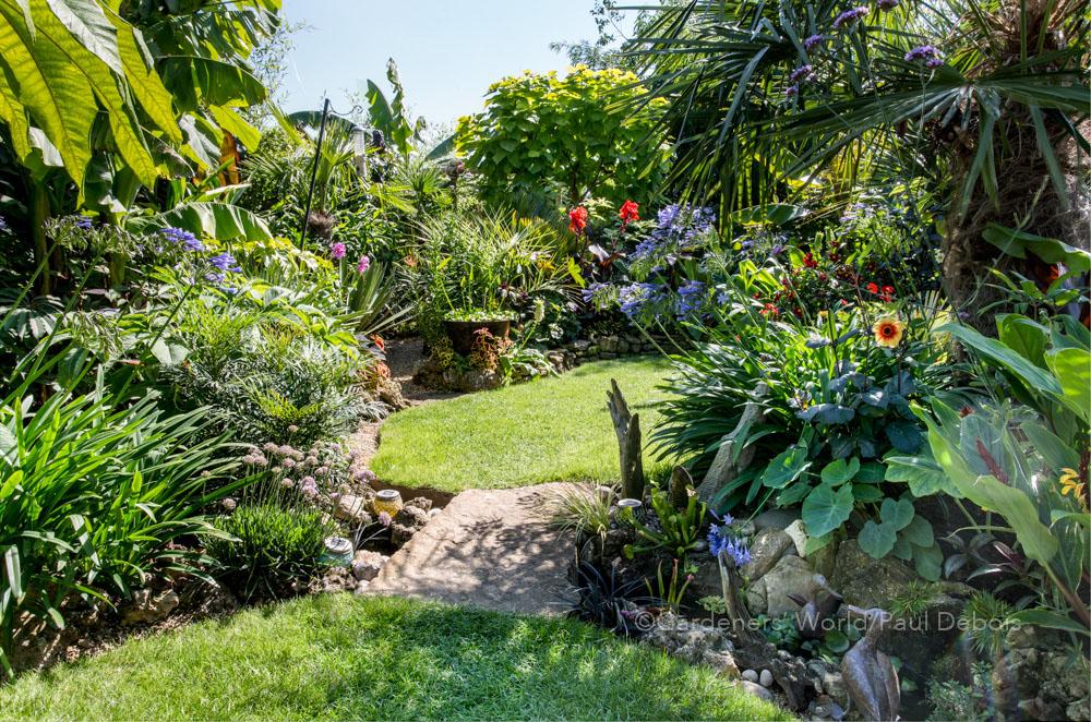 Steve Moody, small garden, Abingdon.