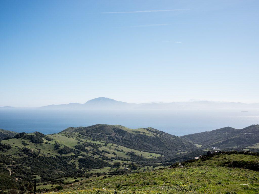 Straits of Gibraltar viewpoint near Tarifa, 6.2.17