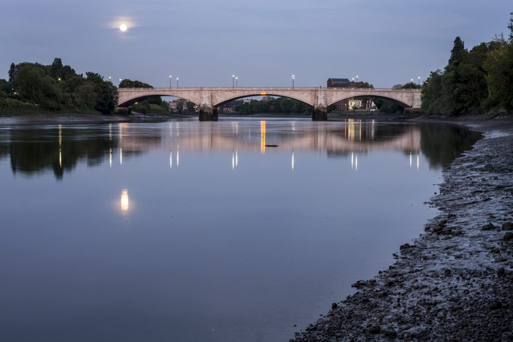 River Thames at Chiswick Bridge