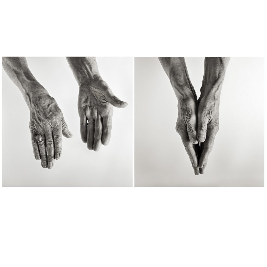 Hands portrait