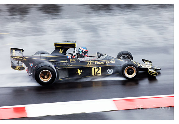 Ronnie Peterson's Lotus 76 JPS from 1974