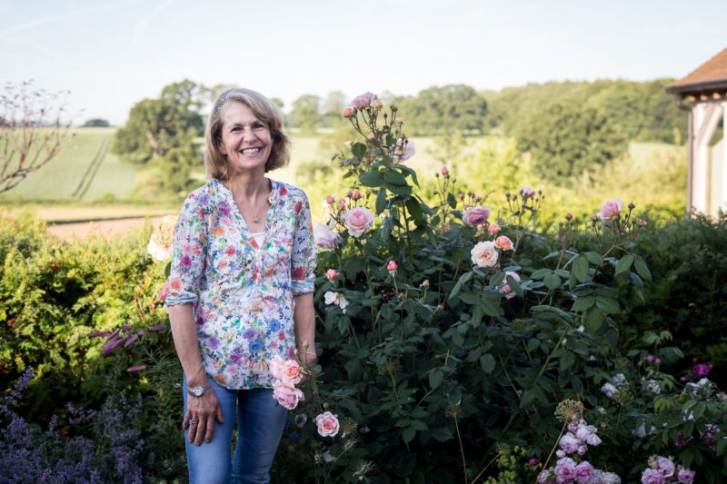 Rosebie Morton, flower farm, Hampshire