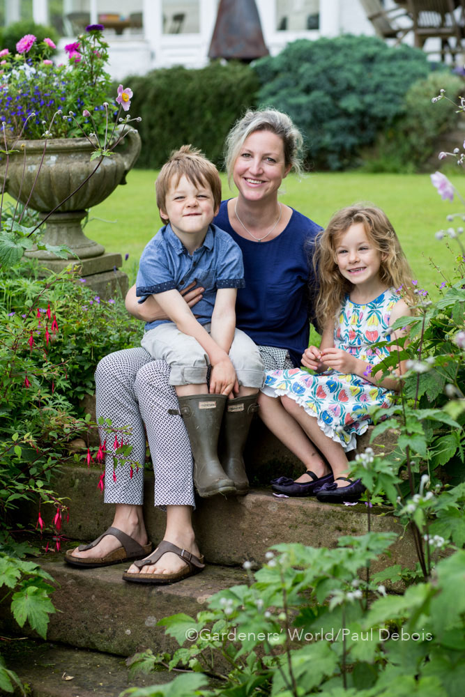Catherine Harrison, family garden, Penrith