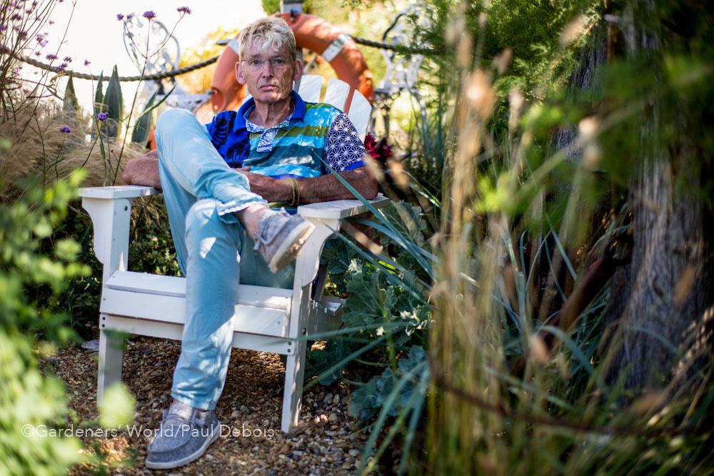 Geoff Stonebanks, small garden, Seaford, Sussex