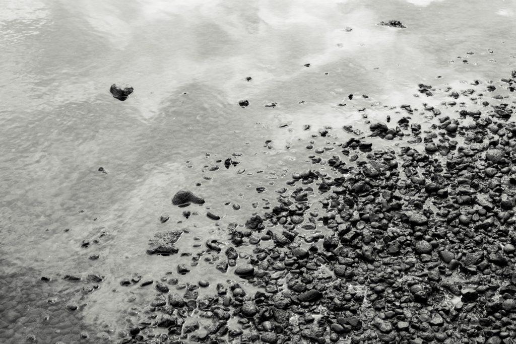 River Thames at low tide, Mortlake